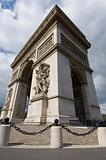 Arc de Triomphe up close