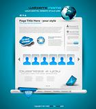 Hitech Style business website template