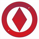 casino sign with diamond