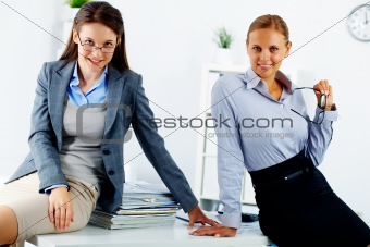 Elegant colleagues
