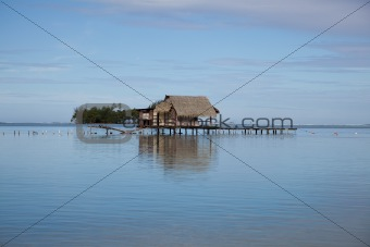Polynesian Fishing Hut