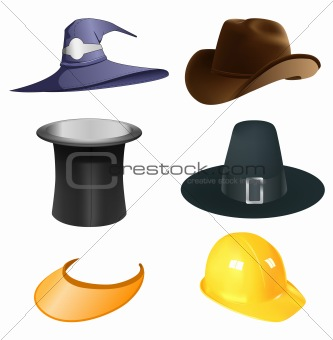 hats set