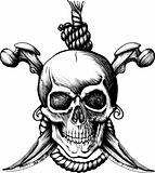 Jolly Roger Skull