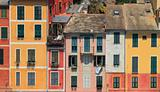 Multicolored houses of Portofino.