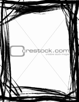 ... description brushed border keywords doodle hand drawn border artistic