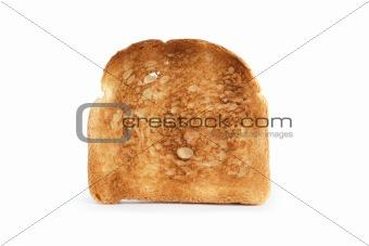 Toast On White