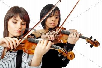 beautiful violinists