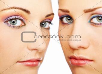 beautiful female faces