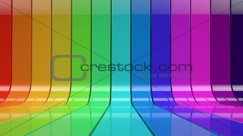 beautiful color three-dimensional background