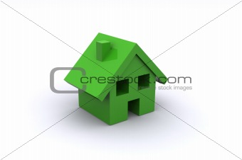 Small Green House