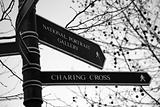 Street Sign, National Portrait Gallery