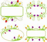Set of spring frames