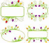 Set of spring frames
