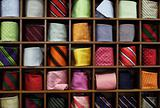 Ties on the shelf