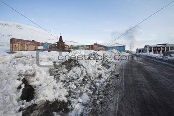 Barentsburg - Russian Arctic city