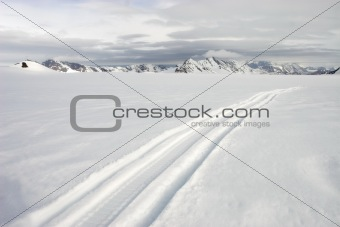 Arctic glacier landscape - Spitsbergen, Svalbard