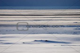 Arctic winter landscape