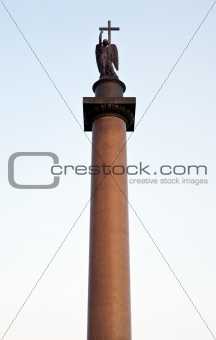 Alexander Column, Palace Square in St Petersburg