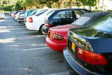 Cars in parking