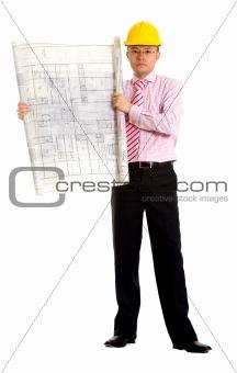 male architect