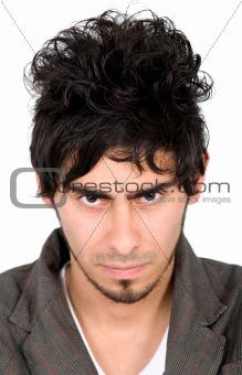 malicious man portrait