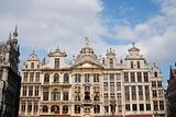 Historical building on the grand place in brussels