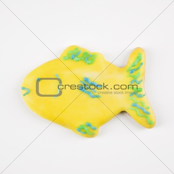 Fish sugar cookie.