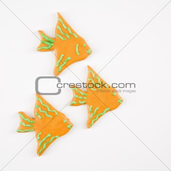 Fish sugar cookies.