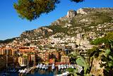 Scenery from Monte Carlo