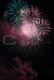 Firework bursting03