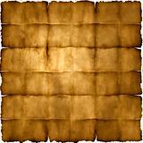 Folded parchment paper