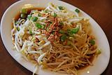 Stir fried beansprouts