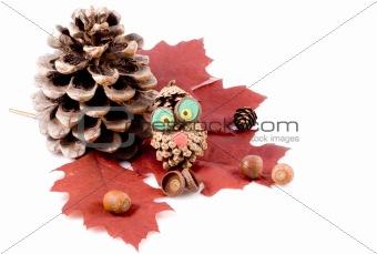 animals from cones