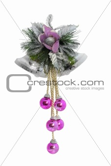 Christmas Bells / with clipping path