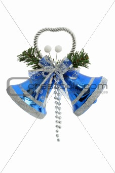 Christmas Bells / isolated with clipping path