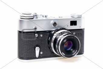 Old styled mechanical film camera