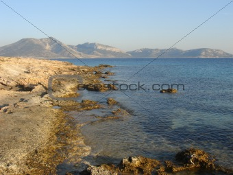 beautiful  greece landscape
