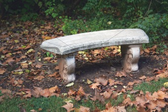 Cement bench