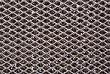 Dirty metal grid