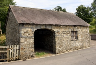 Ancient Stone Barn