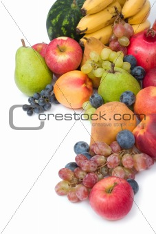 fresh and ripe fruits