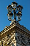 buckingham palace  gate lamp