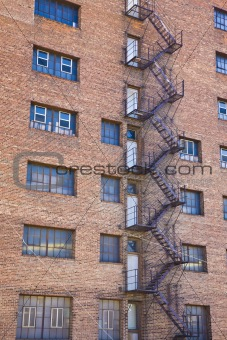 Factory Fire Escape