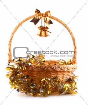 old bells and basket