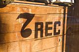 Defunct Record Shop Window