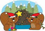 Beaver Christmas