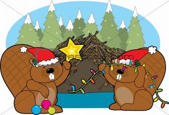 Beaver Christmas