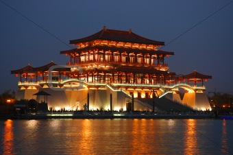 Modern Tang Dynasty Building