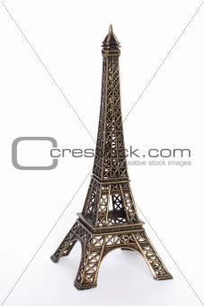 Small bronze copy of Eiffel tower