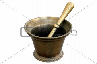 Brass Medicinal Mortar
